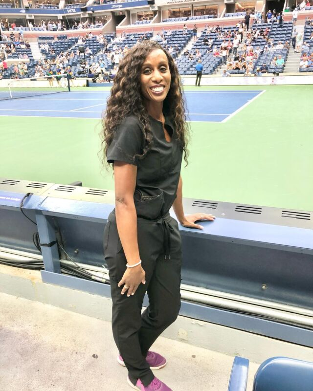 I have been blown away by the talent displayed by amazing women at the #USOpen this year.   🎾 It has been such an inspiration for my daughter to watch so many fierce and competitive women play especially 2 teenager girls who have  beaten the best players in  tennis.   🎾 Observing the joy, innocence, humble nature and determination displayed by winners @emmaraducanu and @leylahannietennis has been such a delight.   🎾 Watching both girls meet @billiejeanking and acknowledge her role in the advancement of women in tennis as well as matters involving #racism and #sexism has also been amazing.  Young girls out there... You can #ACHIEVE anything you want. You can beat #Goliath. You can WIN but still ENJOY the game. You can always turn things around even when it looks like the game is over. #BelieveINYOURSELF!💫  I can't wait to see this #USopen women's final tomorrow.  Enjoy the match, Dr. Maggie #drmaggicadet